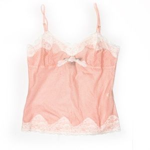 Express lace trim cami small